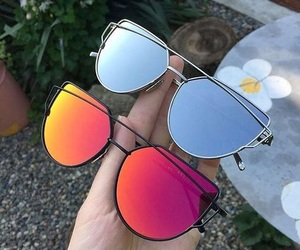 accessories, sunglasses, and love image