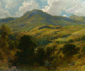 art, gustave dore, and landscape image
