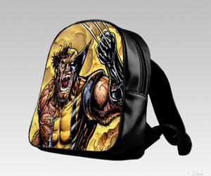 bag, school, and cartoon image
