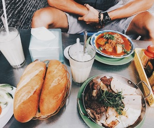 beef, bread, and breakfast image