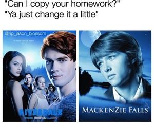 funny, meme, and mackenzie falls image