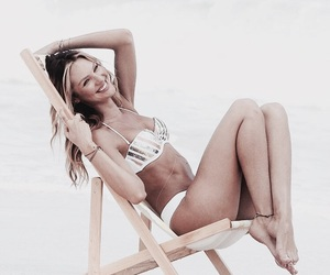 model, candice, and smile image