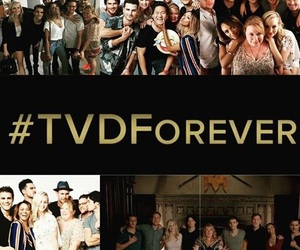 cast, the vampire diaries, and tvd forever image