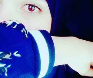eyes, hijab, and hijabista image