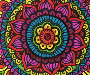 amor, art, and colores image