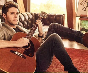 niall, guitar, and horan image