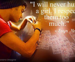 zayn malik, one direction, and quote image