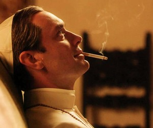 jude law, the young pope, and gif image
