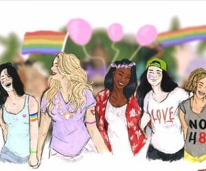 gay, lesbian, and 5h image