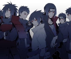naruto, sasuke, and madara image