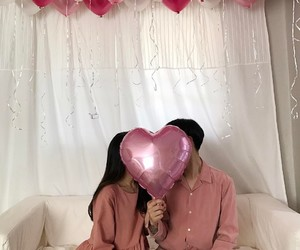 couple, ulzzang couple, and dating image