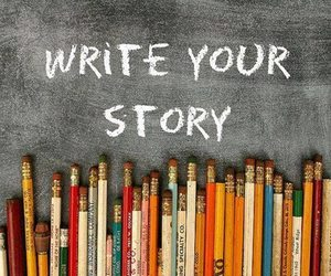 story and write image