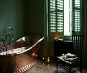 bathroom, style, and home image