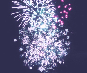 bright, colourful, and fireworks image