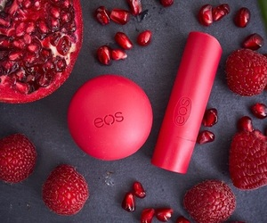 eos, make up, and red image