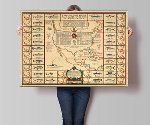 etsy, fish, and map image