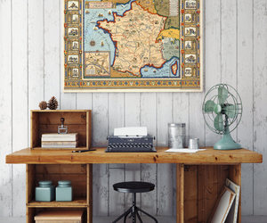 etsy, old map wall decor, and europe old map image