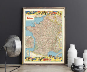etsy, france, and map image