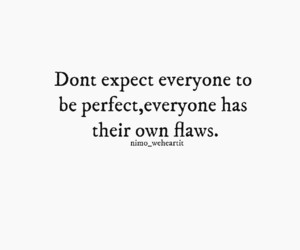 expect, inspiration, and flaws image