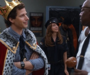 andy samberg, brooklyn nine nine, and jake peralta image