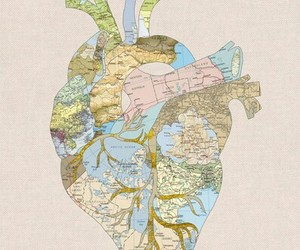 heart and map image