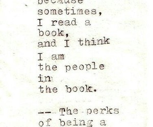 book, quote, and the perks of being a wallflower image