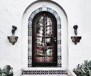 door, stairs, and architecture image