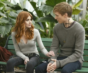 shadowhunters, katherine mcnamara, and will tudor image