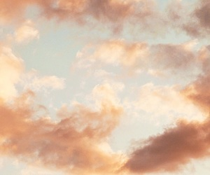 clouds, cool, and cotton candy image