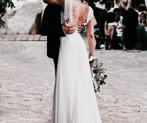 wedding, love, and boy image