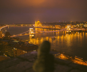 budapest and lights image