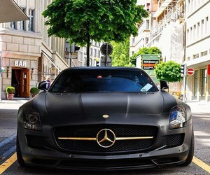 benz, cars, and luxury image