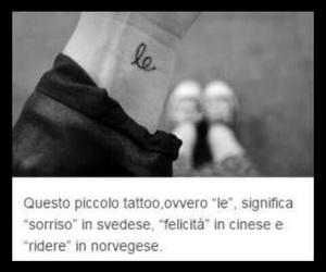 le, tatoo, and sorriso image