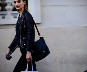 street style, model off duty, and pfw image