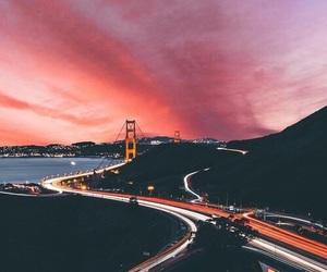 sky, city, and light image