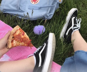 pizza, shoes, and tumblr image
