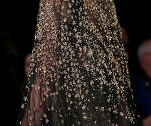 black, diamonds, and dress image