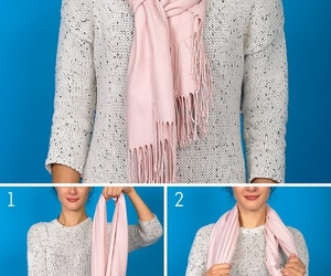 look, wrap, and scarf image