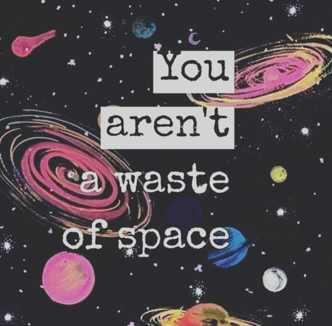 quotes and space image
