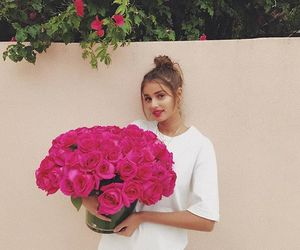 taylor hill, beautiful, and flowers image