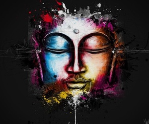 art, inspiration, and budda image