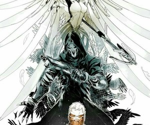 game, reaper, and mercy image