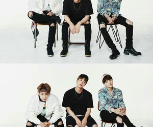 jin, rap monster, and bts festa image