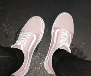 style, pink, and shoes image