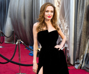 Angelina Jolie, oscar, and red carpet image