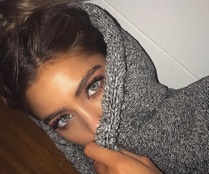 girl, eyes, and goals image