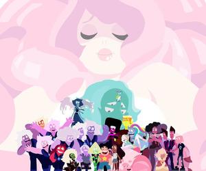 steven universe, lars, and rose quartz image