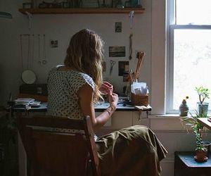 life, interior, and woman image