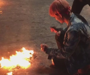 bts, fire, and v image