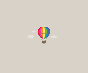 aesthetic, background, and hot air balloon image
